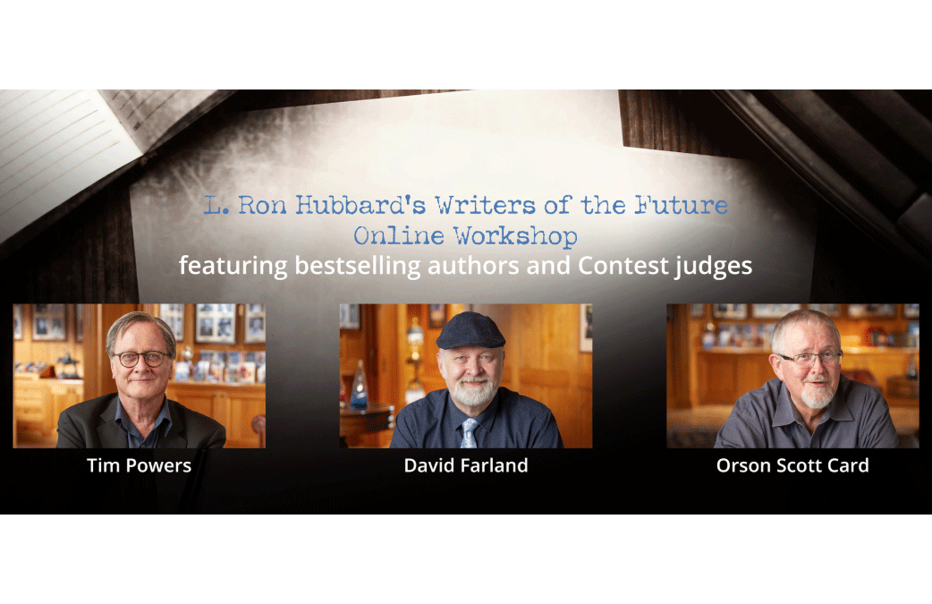 L. RON HUBBARD'S Writers of the Future – Online Workshop – FREE