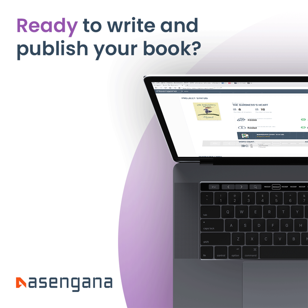 Asengana Writing and Project management for Authors How It Works